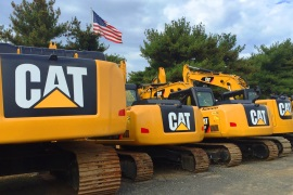 CAT Equipment Lined Up | Foley Inc.
