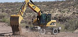 wheeled excavator thumbnail