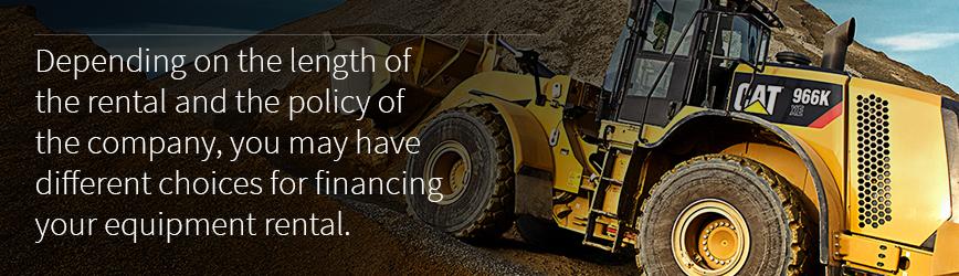 financing equipment