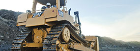 Shot of Caterpillar Heavy Equipment